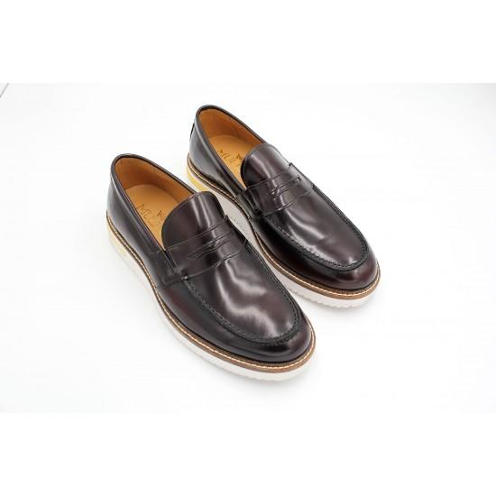 Mulish Burgundy Loafers