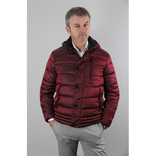 Sea Barrier Cervino Burgundy Padded Jacket